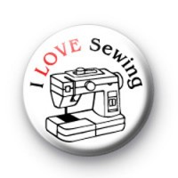 I Love Sewing badge