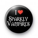 I Love Sparkly Vampires badge