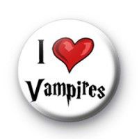I Love Vampires badges