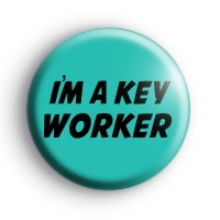 Im A Key Worker Badge Button Badges