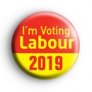 Im Voting Labour 2019 General Election Badge