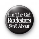 Im The Girl Badge