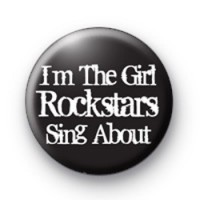 Im The Girl Badge Button Badges