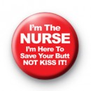 Im the Nurse Badge