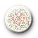Indian Flower Pattern badge