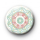 Indian Flower Pattern 2 badge
