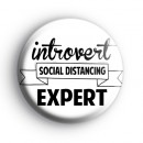 Introvert Social Distancing Expert Badge