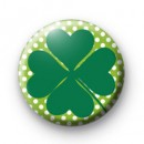 Irish Shamrock Spots badge