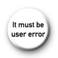 User Error Badges