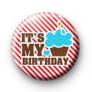 Cupcake Its My Birthday Badges