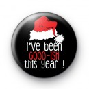 Ive Been Good ish This Year Badge