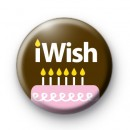 iWish Birthday Cake Badges