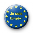 Je Suis Europeen Badge