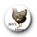 Jens Hens Custom Chicken badge