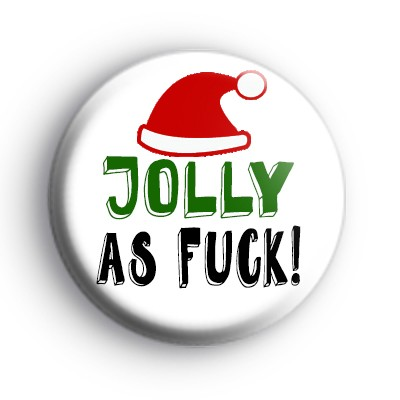 Jolly As F Badge