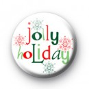 Jolly Holiday Badges