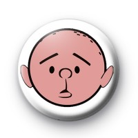 Karl Pilkington Badge