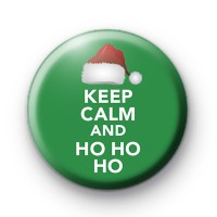 Keep Calm and Ho Ho Ho Badge