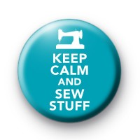 Keep Calm and Sew Stuff Badge