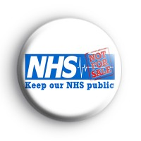 Keep Our NHS Public Badge