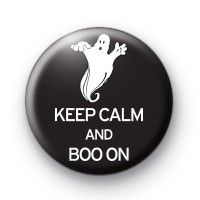 Keep Cam and Boo On Badge