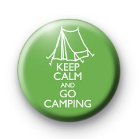 Keep Calm and Go Camping Badge