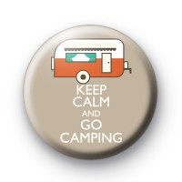 Keep Calm and Go Camping 2 Badge