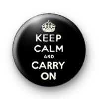 Keep Calm and Carry on badges