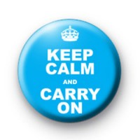 Keep Calm and carry on Blue Badge thumbnail