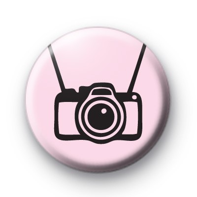 Cute Camera Button Badges