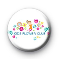 Kids Flower Club Custom Badge