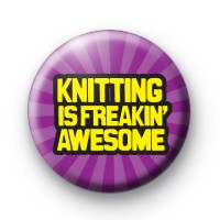 Knitting is Awesome Badges