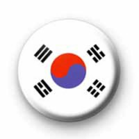Korean Flag badges