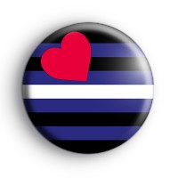 Leather Pride Flag Badge thumbnail