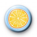 Orange Lemon Fruit Button Badges