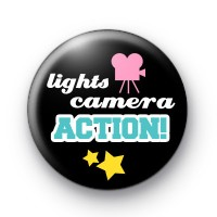 Lights Camera Action Badge