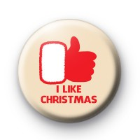 I Like Christmas Badges