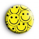 Lots of Smiley Faces Badge