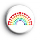 Love Hearts Rainbow Badge