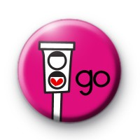 Love Traffic Lights Badge