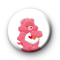 Luv a lot Care Bear badge