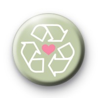 Love is to Recycle Badge