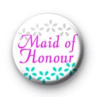 Maid of Honour Badges