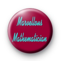 Marvellous Mathematician badge