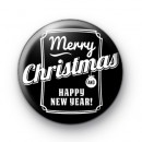 Merry Christmas & Happy New Year Badge