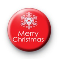 Red Merry Christmas Badge