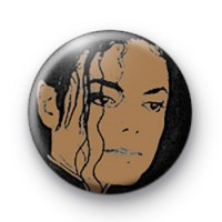 Michael Jackson Badge 2