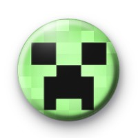 Minecraft Creeper Badge