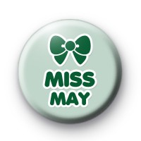 Miss May Birthday Button Badges thumbnail