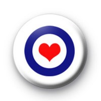 Mod Heart badges